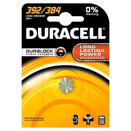 Duracell 392 / 384 1.5v Watch Battery