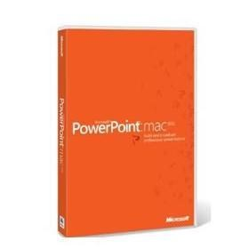 Microsoft® PowerPoint® Mac 2011 Single OPEN 1 License No Level