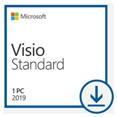 Microsoft Visio Standard 2019 - 1 PC Device - Electronic Download