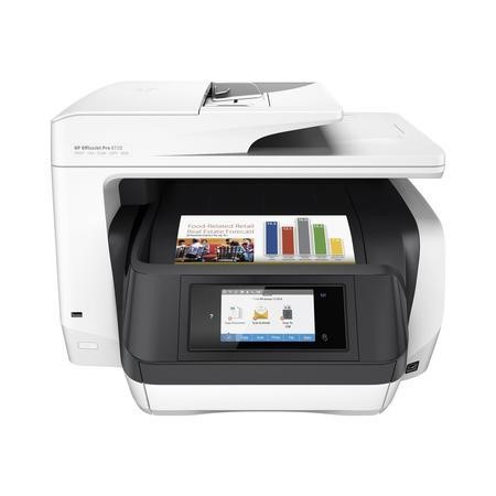 D9L19A HP OfficeJet Pro 8720 A4 All In One Wireless Inkjet Colour Printer