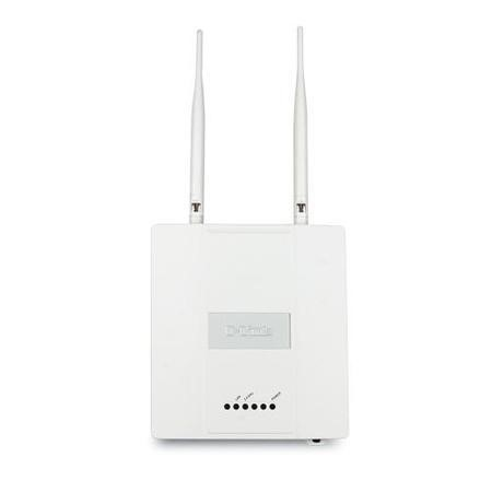 D-Link Wireless N Single Band Gigabit PoE Managed Access Point with Plenum Chassis