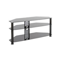 Elmob DB1150 Glass TV Stand - Up to 60 Inch
