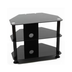 Elmob DB600 Glass TV Stand - Up to 32 Inch