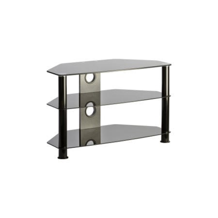 Elmob DB800 Glass TV Stand - Up to 32 Inch