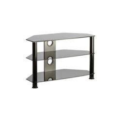 Elmob DB1000 Glass TV Stand - Up to 46 Inch