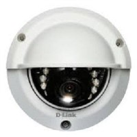 GRADE A1 - D-Link Full HD Outdoor Fixed Dome Day and Night Network IP Dome Camera - 1 Pack