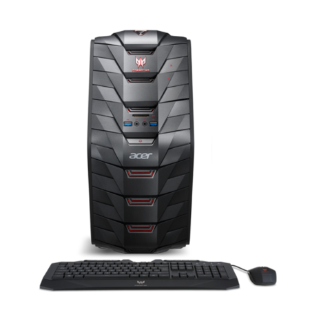 DG.E08EK.019 Acer Predator G3-710 Core i5-7400 8GB 1TB + 128GB SSD GeForce GTX 1060 6GB Windows 10 Gaming PC