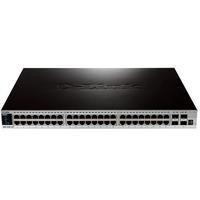 xStack 48-port 10/100/1000/10G L2+ Stackable Switch plus 4x10GE SFP+