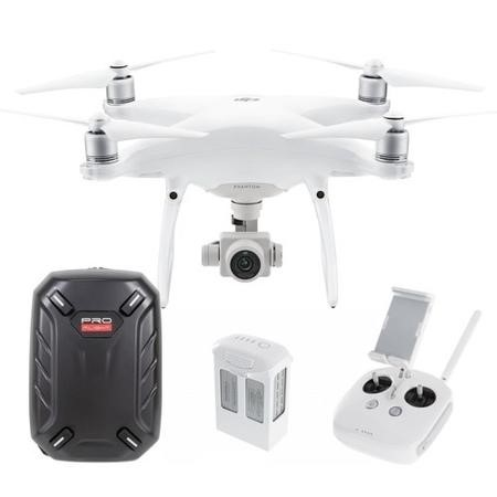 DJIP4PRO DJI Phantom 4 Pro 4K Camera Drone Ready To Fly with Free Hard Shell Backpack