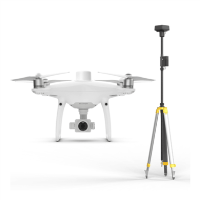DJI Phantom 4 RTK Drone with D-RTK 2 Mobile Station