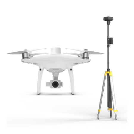 DJIP4RTK2 DJI Phantom 4 RTK with D-RTK 2 Mobile Station