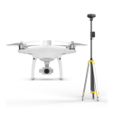 DJIP4RTK2 DJI Phantom 4 RTK Drone with D-RTK 2 Mobile Station
