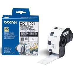 Brother DK-11221 - Labels - 23 x 23 mm - 1000 labels