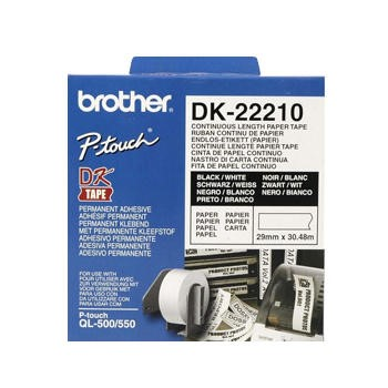 Brother DK-22210 - Labels - Roll 2.9 cm x 30.5 m