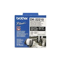 Brother DK22243- white continuous paper tape 102mm x 30.48m