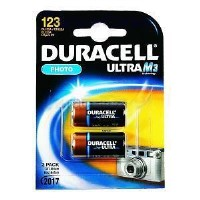 Duracell Ultra M3 Lithium 2 Pack