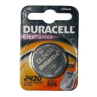 Duracell DL2430 Lithium Button Cell Battery 1x 1 Pack