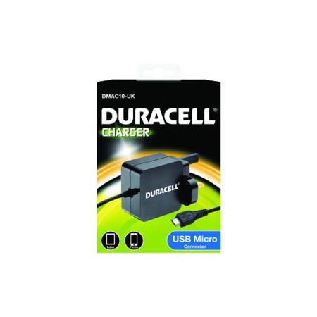 Duracell AC Phone Charger 2.4A