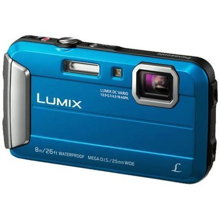 Panasonic Lumix DMC-FT30 16.1MP Waterproof Camera in Blue