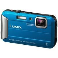 Panasonic Lumix DMC-FT30 16.1MP Optical Zoom x4 2.7LCD 720pHD Waterproof Camera in Blue