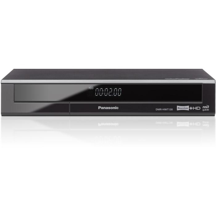 panasonic dmr hwt130eb freeview hd recorder 500gb laptops direct. Black Bedroom Furniture Sets. Home Design Ideas