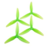 HQ Durable Prop  5.1X4.1X3 Light Green 2CW+2CCW-Poly Carbonate-POPO