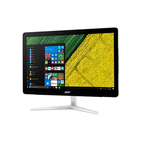 "Acer Z24-880 Core i3-7100T 4GB 1TB 23.8"" Windows 10 Touchscreen All-In-One PC"