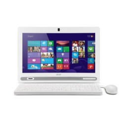 "GRADE A1 - As new but box opened - Acer Aspire ZC-602 19.5"" Non Touch AIO IC 1017U 6GB 1TB Intel HD Graphics Card DVDRW Windows 8.1 All In One White"