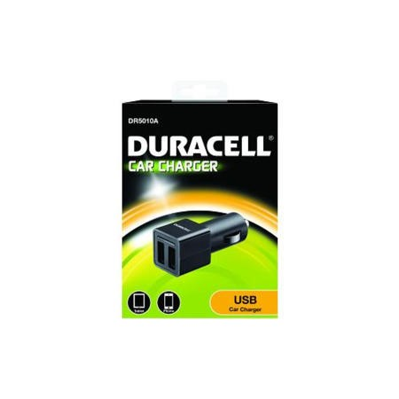 Duracell 5V Dual USB Car Charger