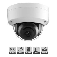 Hikvision 5MP Motion Detecting IP Dome Camera 2.8mm Lens