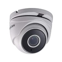 Hikvision 2MP Turret White Analogue Dome Camera - 1 Pack