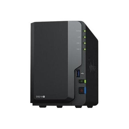 Synology DS218+ 2 Bay Diskless Desktop NAS