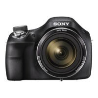 Sony DSC-H400 Bridge Camera Black 20.1MP 63xZoom 3.0LCD 720pHD 24mm Carl Zeiss
