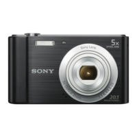 Sony DSC-W800 20.1MP Digital Camera - Black