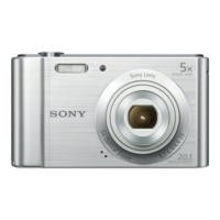 Sony DSC-W800 Camera Silver 20.1MP 5xZoom 2.7LCD 720pHD 23mm Sony G Lens