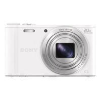Sony DSCWX350W 18MP Smart Digital Camera - White