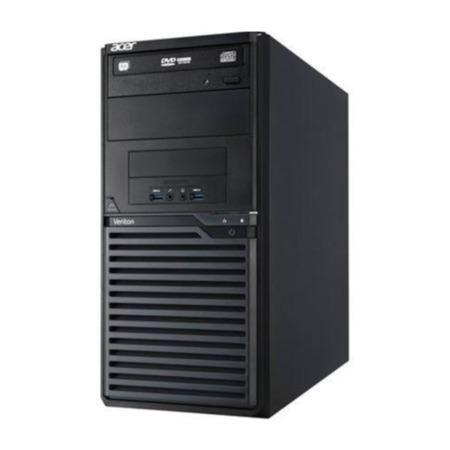 GRADE A1 - As new but box opened - Acer Veriton M2631G Tower Core i3-4130 4GB 500GB Shared DVDRW Windows 7/8 Professional Desktop