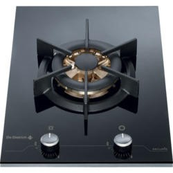 De Dietrich DTG1118X 38cm Wide Rotary Control 6kW Wok Gas Hob With Stainless Steel Front
