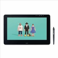 Wacom Cintiq Pro 16 UHD UK with Wacom Link Plus - Graphic Tablet