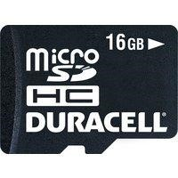 Micro SD Memory Duracell 16GB Micro Secure D igital Card