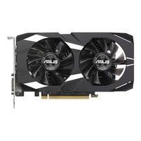 Asus Dual Nvidia GeForce GTX 1050 Ti 4GB GDDR5 OC Graphics Card