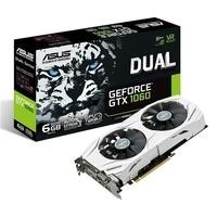ASUS Dual GeForce GTX 1060 6GB GDDR5 Graphics Card