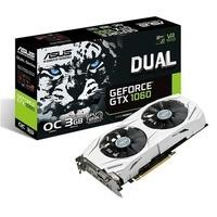 ASUS Dual GeForce GTX 1060 3GB GDDR5 OC Graphics Card