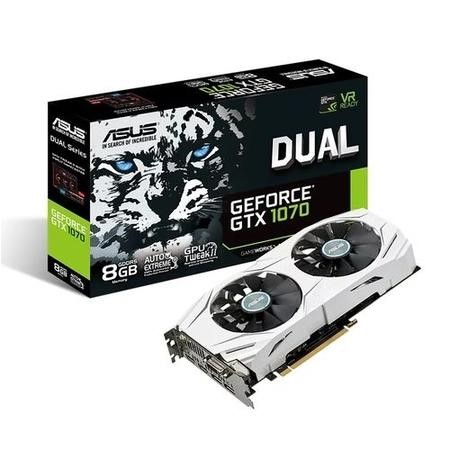 ASUS Dual GeForce GTX 1070 8GB GDDR5 Graphics Card