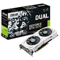 ASUS Dual GeForce GTX 1070 Overclocked 8GB GDDR5 Graphics Card