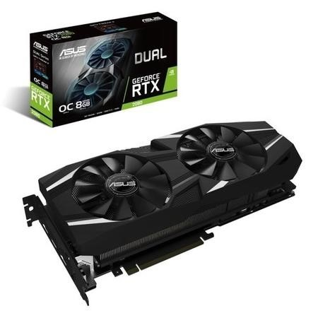 Asus GeForce RTX 2080 DUAL OC 8GB GDDR6 Graphics Card