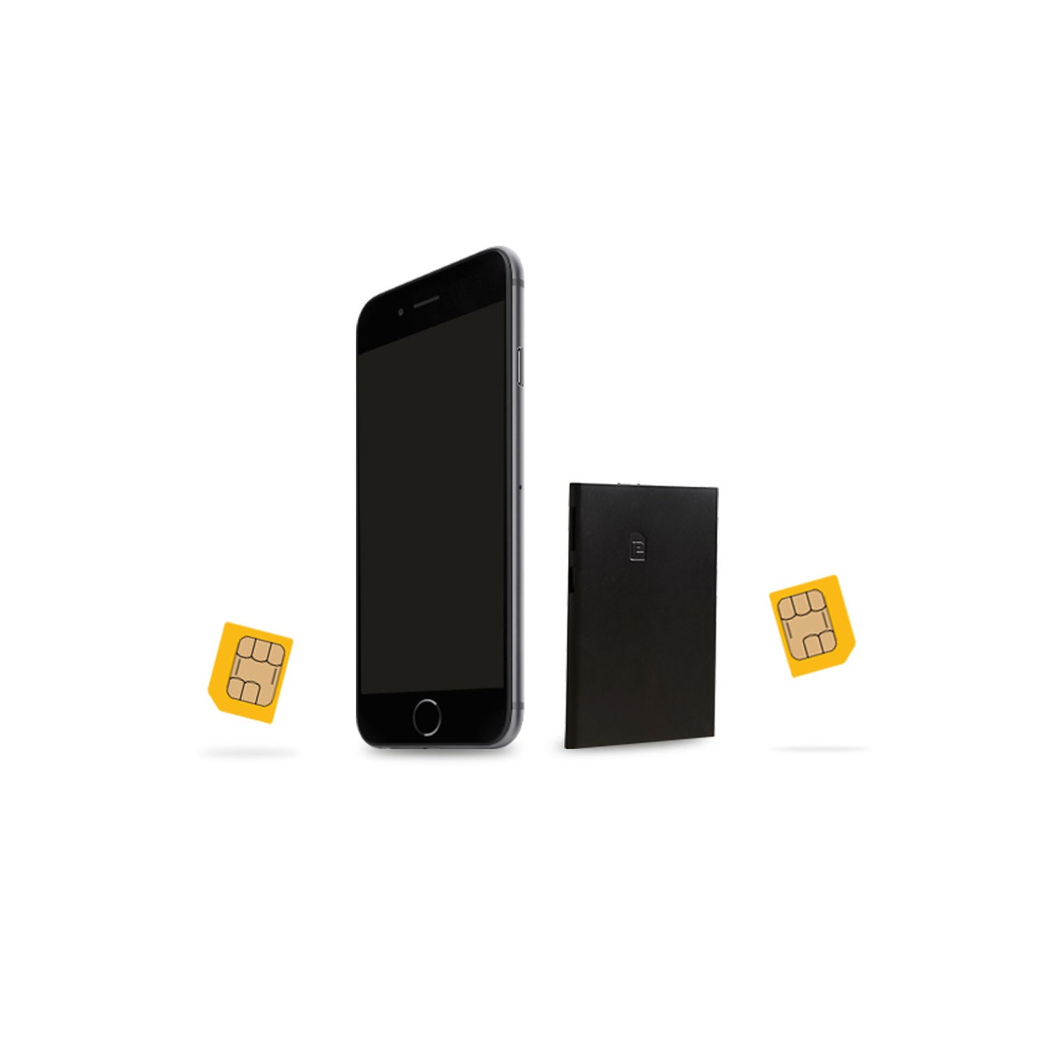 Dual SIM Converter - Add a Second SIM Card & Number to any Mobile Phone