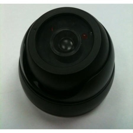 DUMMYDOME Internal Dummy Dome CCTV Camera in Black