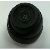 Internal Dummy Dome CCTV Camera in Black