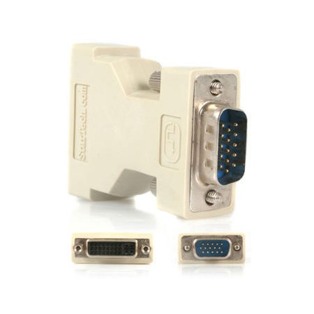 DVIVGAFM Startech DVI to VGA Cable Adapter - F-M